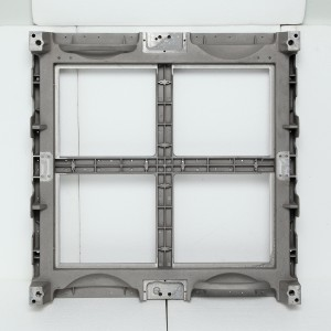 Display glass box body die-casting